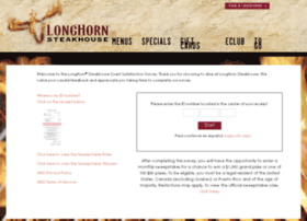 longhorn steakhouse guest survey review
