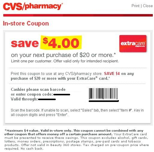 cvs extracare coupons by email