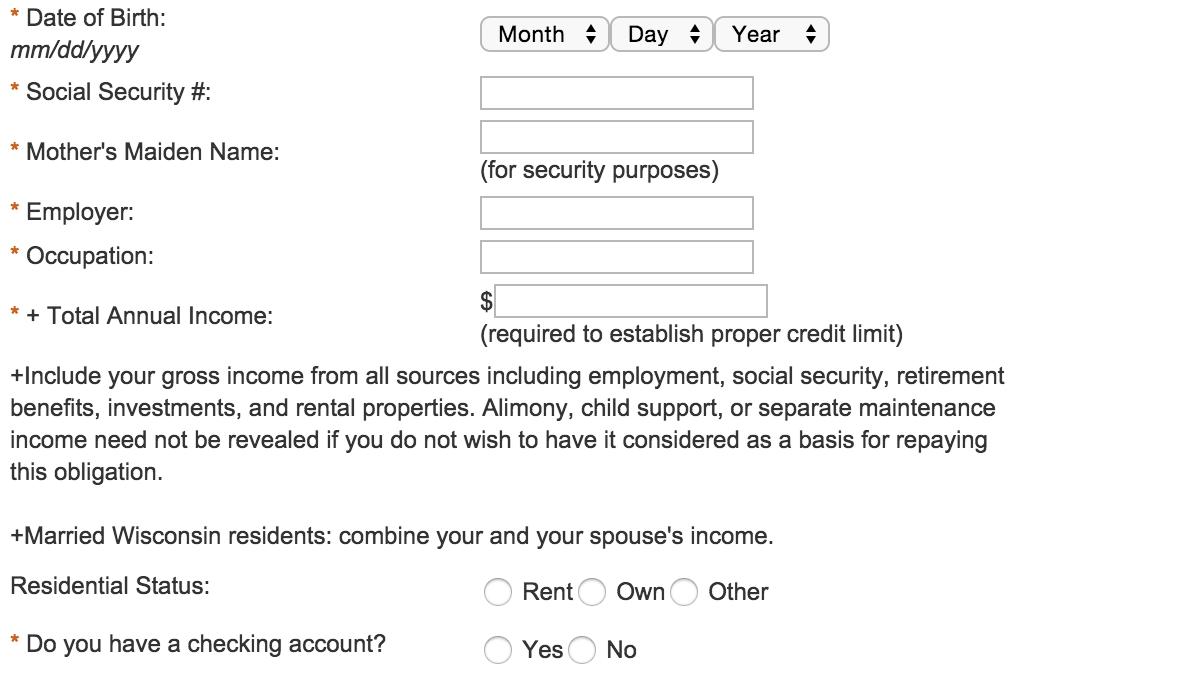 Cabelas Club Visa Application Review