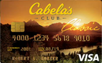 cabelas club credit card savings