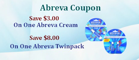 Abreva Coupons and Printable Discounts