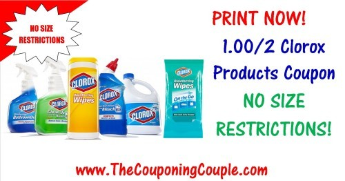 clorox coupons and discounts