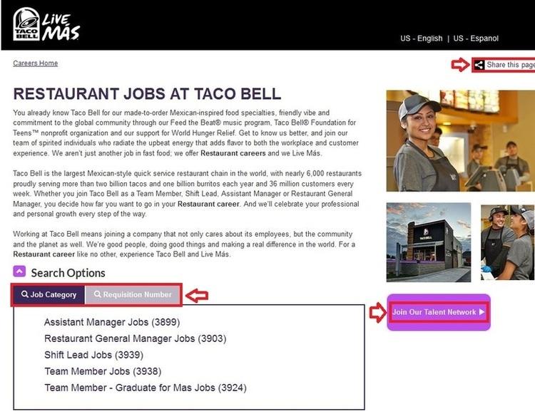 Taco Bell Jobs – Apply Online