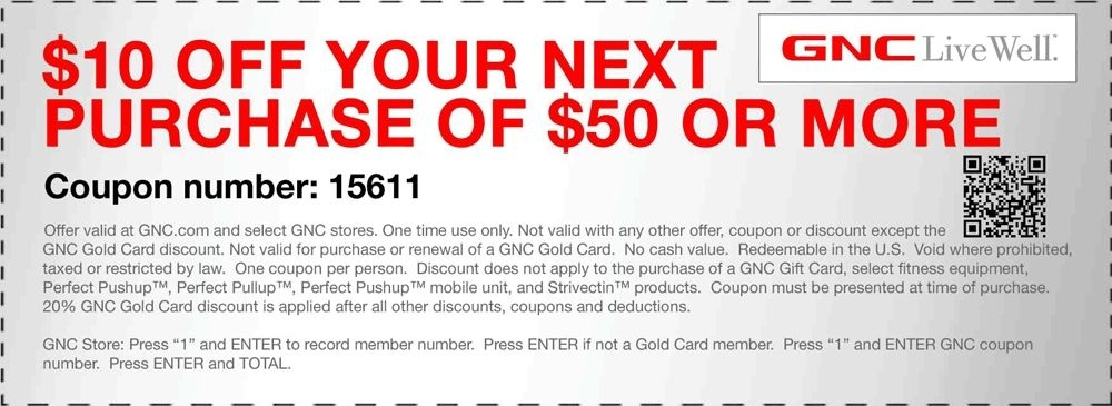 gnc coupons and savings