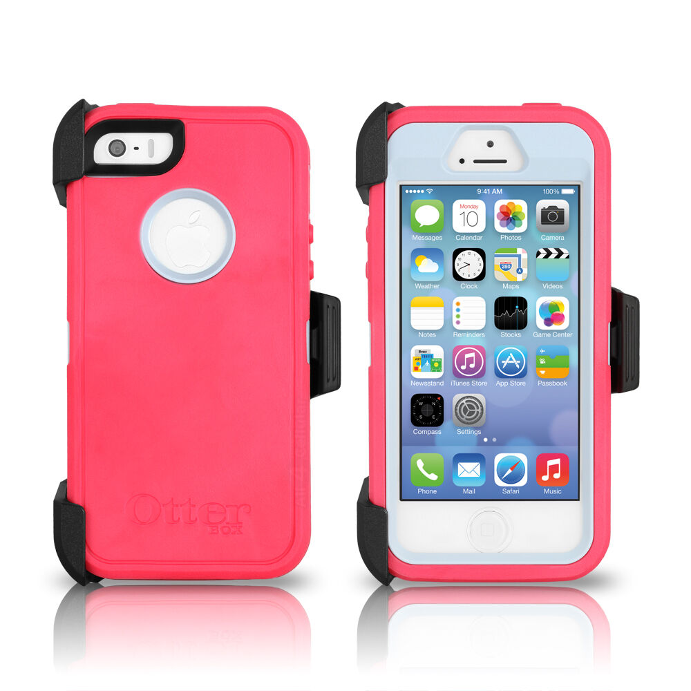 OtterBox Defender Series iPhone 4 / 4S Case – Peony Pink / Gunmetal Grey