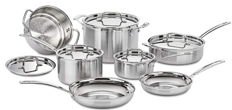 Best Cuisinart Stainless Steel Cookware Sets