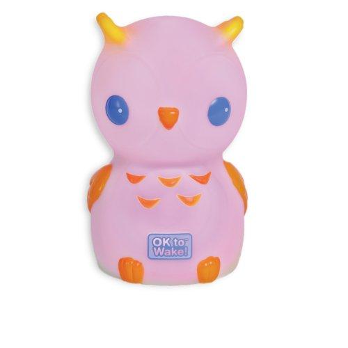 Onaroo Night Owl Portable Night-Light with OK to Wake for Kids