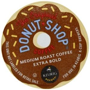 Donut Shop K-Cup Packs for Keurig Brewers