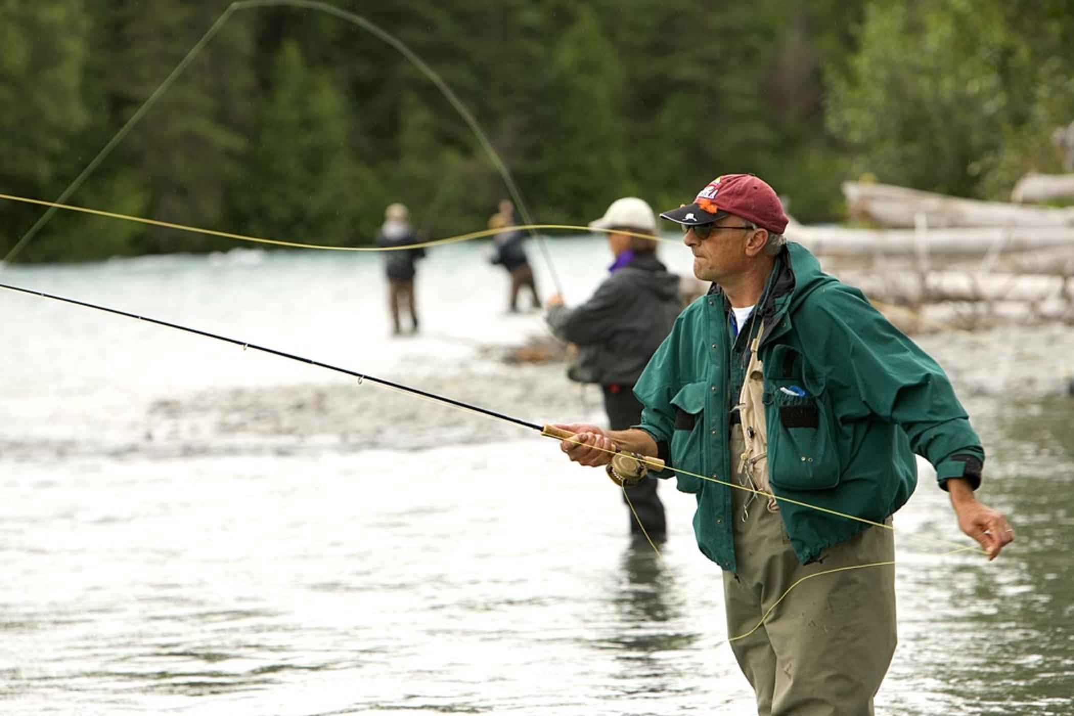 what is fly fishing photo