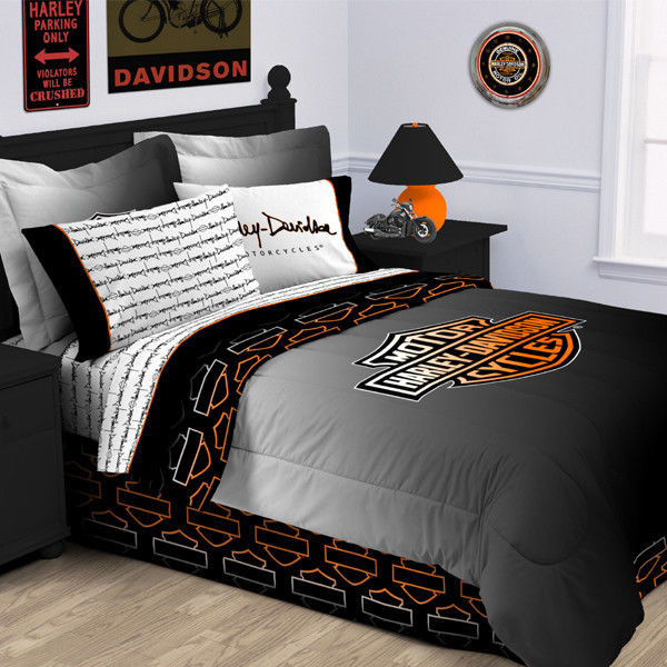 Harley Davidson Bedding Sets