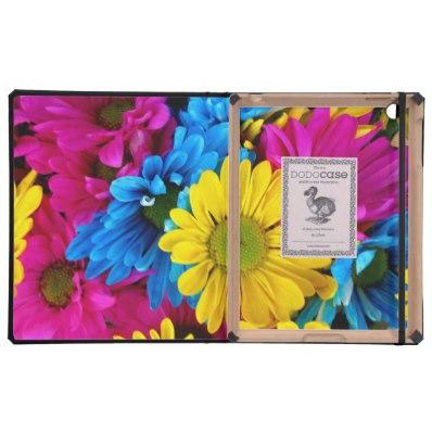 Pretty Daisy Flowers Dodocase iPad Cases