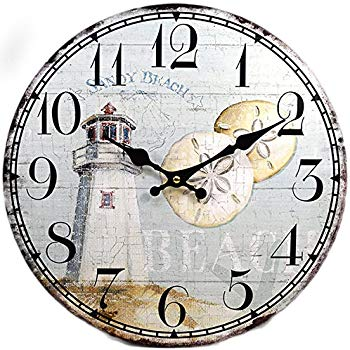 Decorative Beacon Lighthouse Wall Clocks