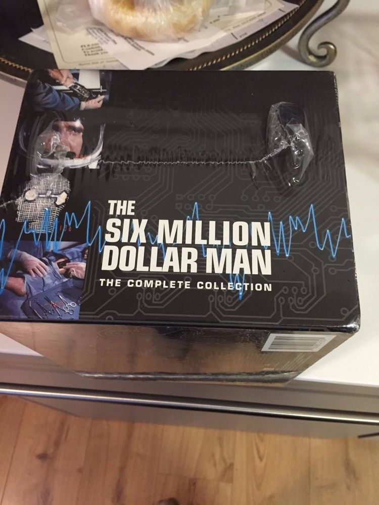 The Six Million Dollar Man – Complete DVD Collection