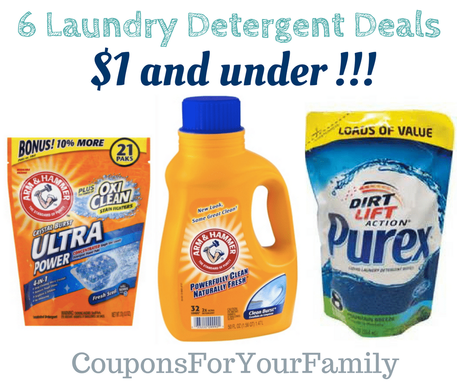 Laundry Soap Coupons