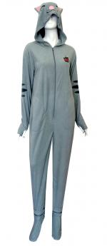 Soft Kitty Footie Union Suit