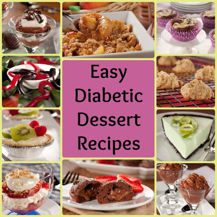 Really Easy Diabetic Recipes – Delicious Too!