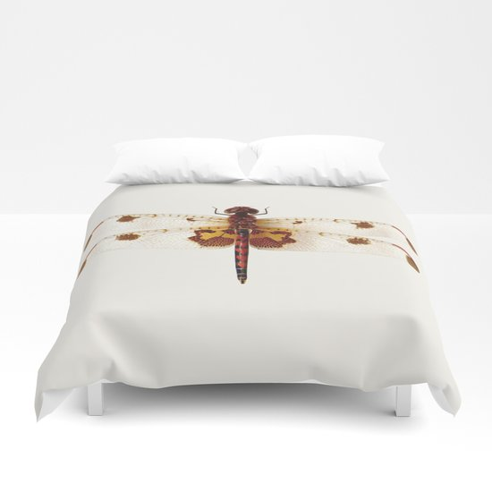 Colorful Dragonfly Duvet Covers