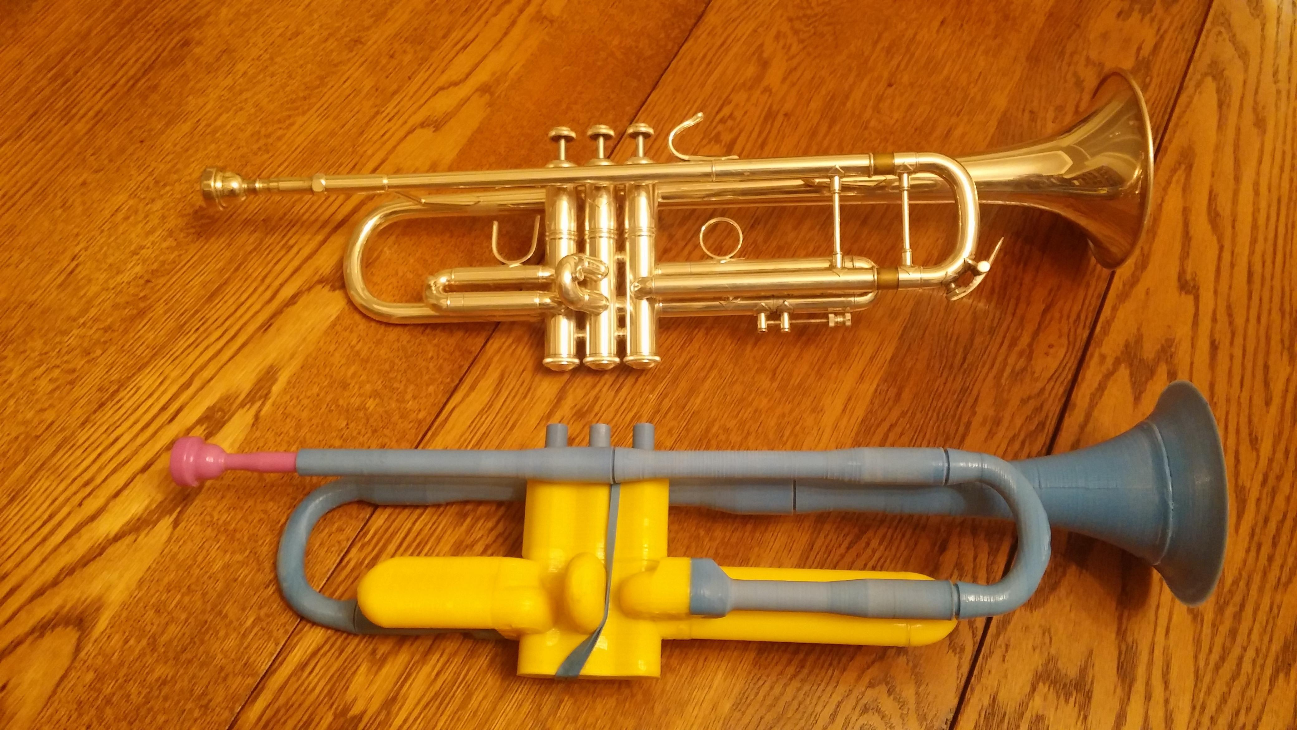 trumpets photo