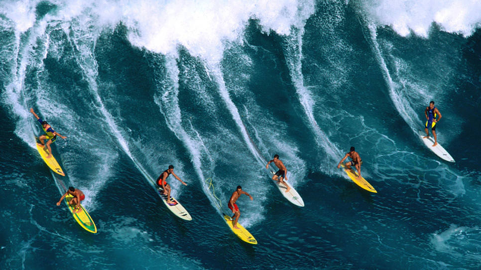 surf hawaii - surfboards photo